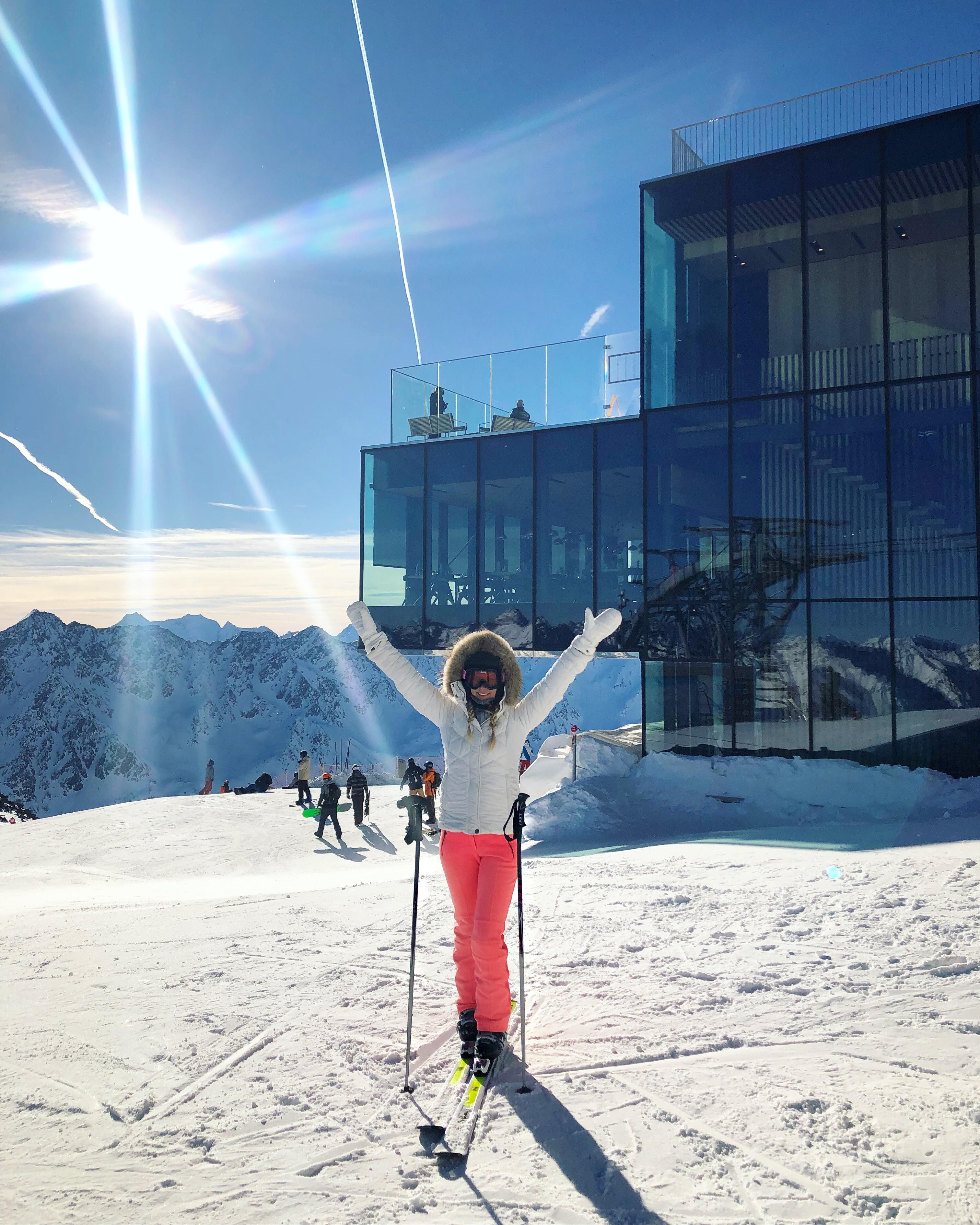 Skifahren Sölden